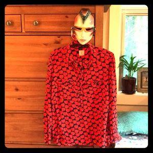 Apple for teacher blouse